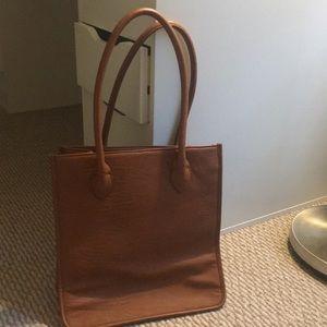 J. Crew Bags - J crew leather style bag